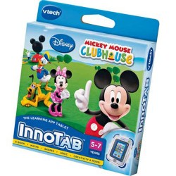 Vtech Innotab Learning Game Cartridge-Mickey Mouse Clubhouse